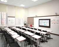 Aménagements des salles de cours de Sciences PO
