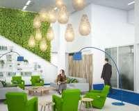Concepts de bureaux - perspectives 3D