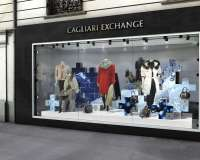 Cagliari Exchange - design de vitrine