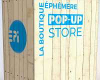 Boutique Pop-Up Store - Conception et graphisme de stand