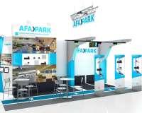 Stand AFAPARK - conception de stand